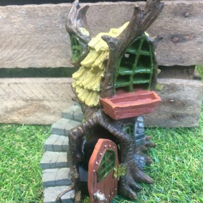 Stump Cottage Fairy House