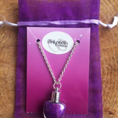 Fairy Dust Necklace Purple