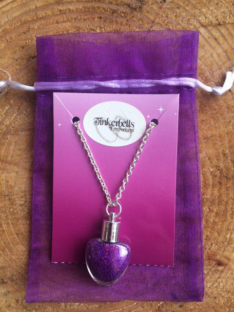 Fairy Dust Necklace Purple