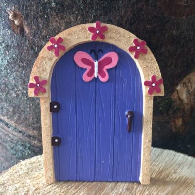 Childrens Fairy Door Purple