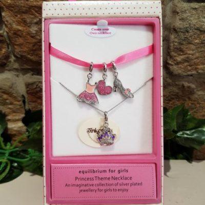 Princess Multi Charm Necklace