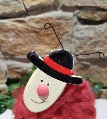 Ladybird Woolen Ornament