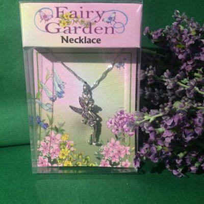 Fairy Necklace Purple