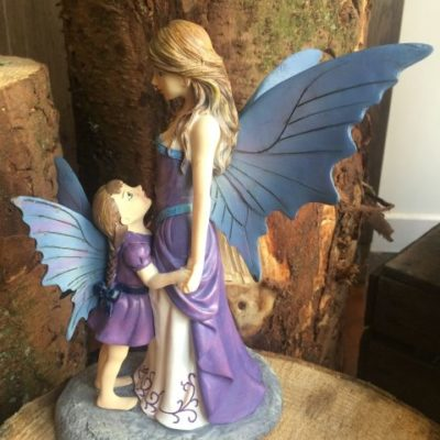 Mother And Child Fairy Ornament