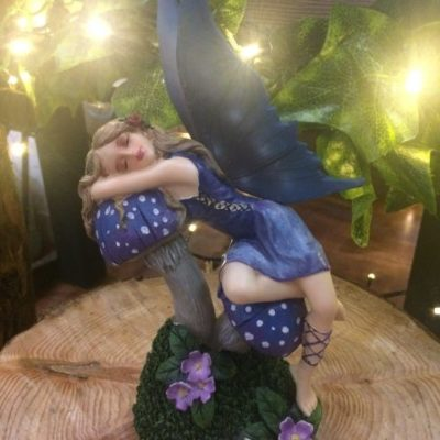 Sleeping On Toadstools Fairy Ornament