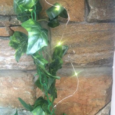 LED Copper String Lights Warm Yellow