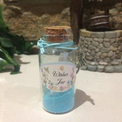 Fairy Dust Wish Jar Blue