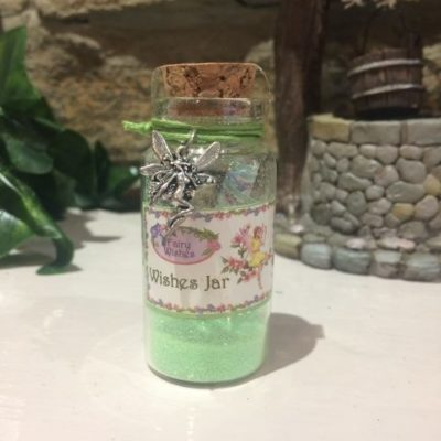 Fairy Dust Wish Jar Green