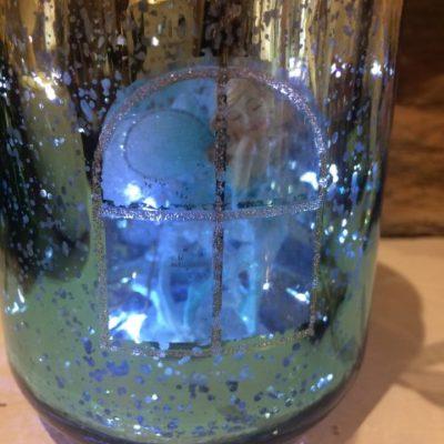 Light Up Fairy Jar Blue