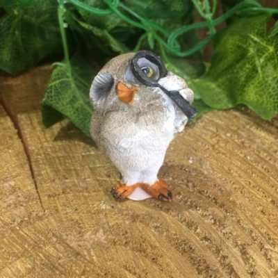 Miniature Owl Ornament Inspector