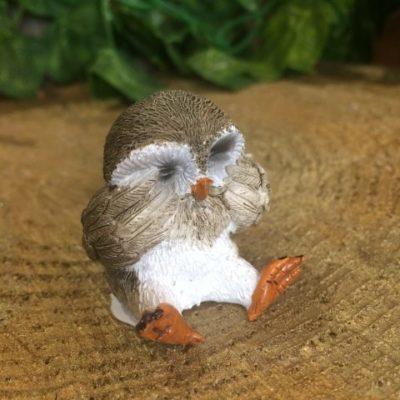 Miniature Owl Ornament Shy