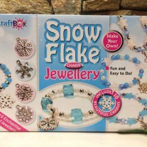 Snowflake Charm Jewellery Making Set