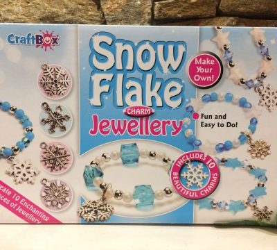 Snowflake Charm Jewellery Making Set