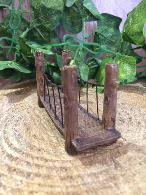 Miniature Suspension Bridge