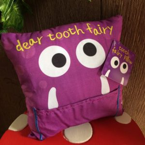 Tooth Fairy Pillow Monster