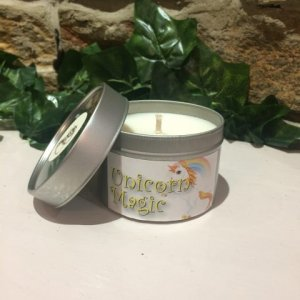 Unicorn Magic Candle