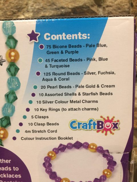 Mermaid Charm Jewellery Making Set