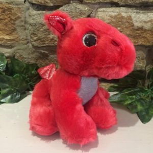 Sparkle Tales Flame the Dragon Plush