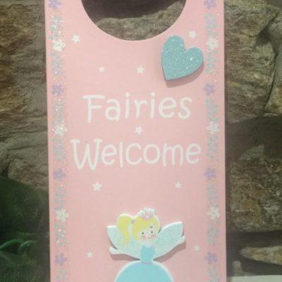 Fairy Pastel Door Hanger