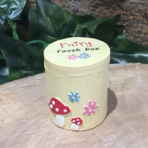 Tooth Fairy Trinket Box Yellow