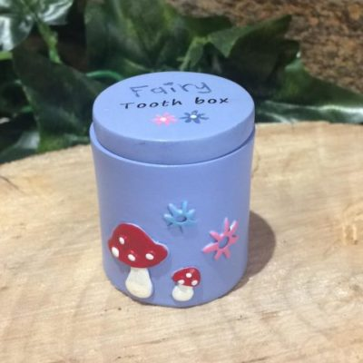 Tooth Fairy Trinket Box Purple