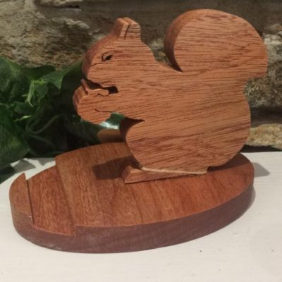 Squirrel Mobile Phone Holder