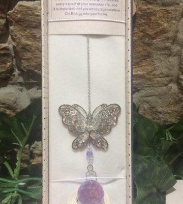 Butterfly Suncatcher 3D Lilac