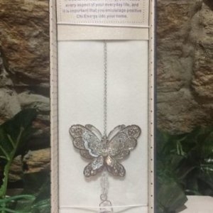 Butterfly Suncatcher 3D Clear