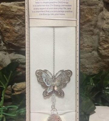 Butterfly Suncatcher 3D Clear