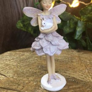 Glitter Pastel Fairy Standing Lilac