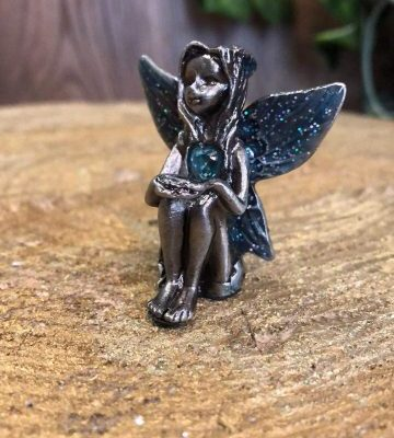 Birthstone Fairy - March Aquamarine