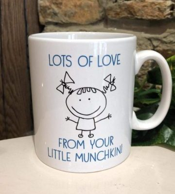 From Your Little Munchkin Mug for Dad