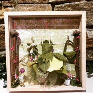 Fairy Dressing Room Box Frame