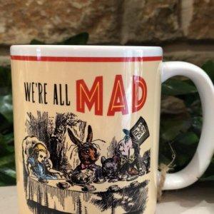 Alice We're All Mad Mug