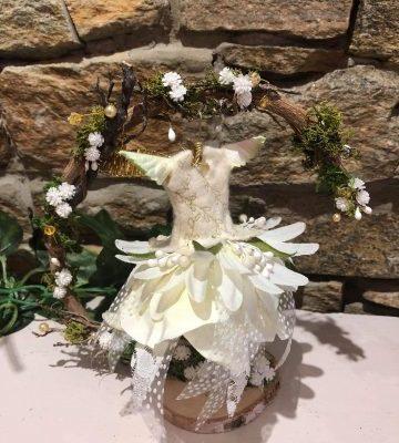 Fairy Dress Crescent Hanger