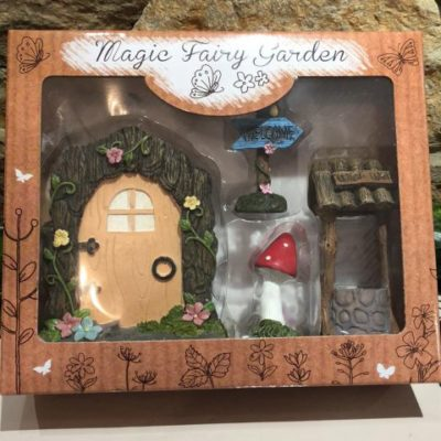 Fairy Door Gift Set Wishing Well