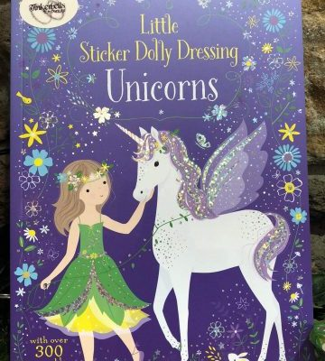 Little Sticker Dolly Dressing Unicorn Book