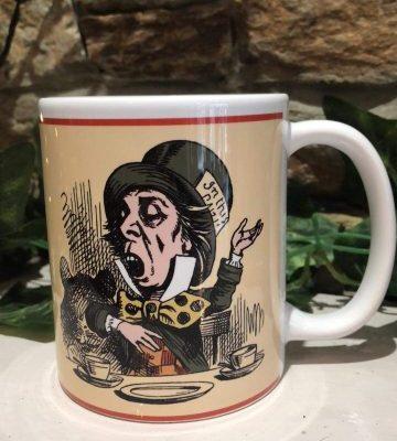 Crazy Bonkers Mad Hatter Mug