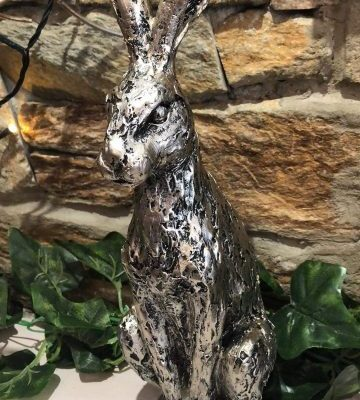 Champagne Silver Hare Large