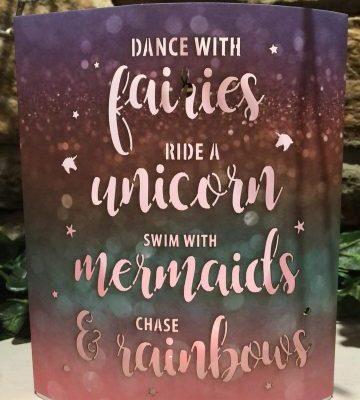 Dance with Fairies Colour Change Lantern