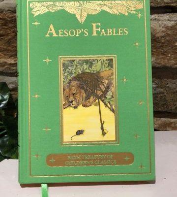 Aesop's Fables Children's Classic Hardback Book