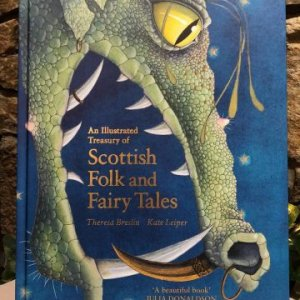 Scottish Folk and Fairy Tales Large Hardback Book