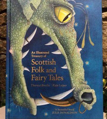 Scottish Folk and Fairy Tales Large Hardback Book