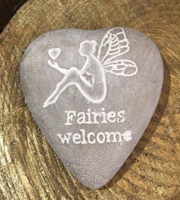 Fairies Welcome Pebble