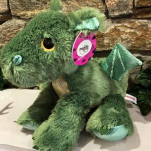 Sparkle Tales Roar Green Dragon Plush