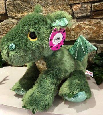 Sparkle Tales Roar Green Dragon Plush