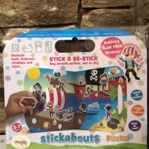 Pirate Stickabouts Glue Free Sticker Play Set