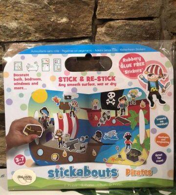 Pirate Stickabouts Glue Free Sticker Play Set