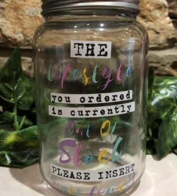 Lifestyle Money Bank Jar