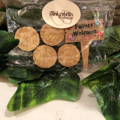 Fairy Welcome Sign and Stepping Stones Pack